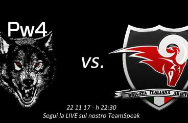 Pw4 vs Brigata Italiana Ariete